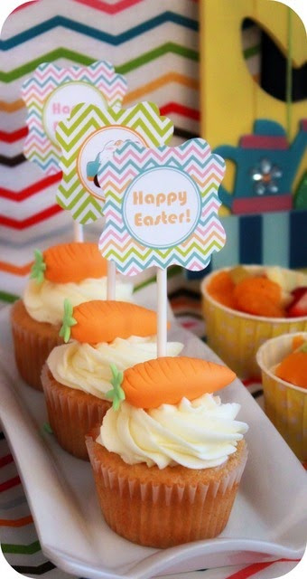 Easter Carrot Cake Cupcakes  marthane living through creativity The 25 Best DIY
