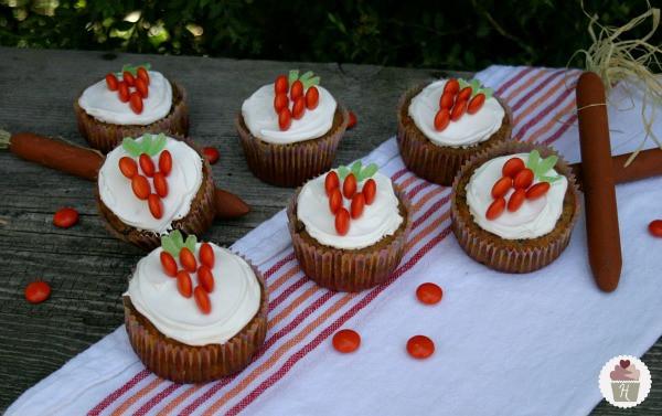 Easter Carrot Cake Cupcakes  Carrot Cake Cupcakes for Easter Hoosier Homemade
