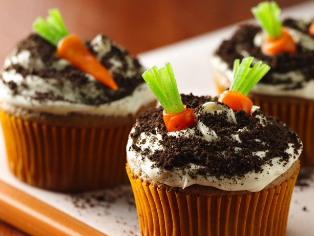 Easter Carrot Cake Cupcakes  Betty Crocker Easter Cupcakes All Things Cupcake