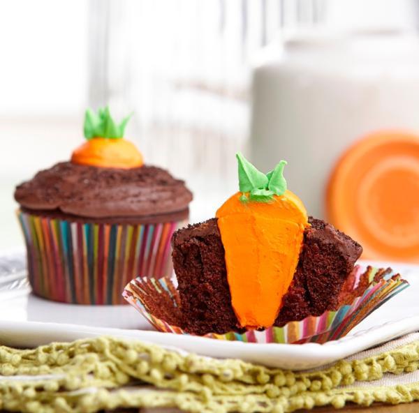 Easter Carrot Cake Cupcakes  Fantastic Easter Goo s