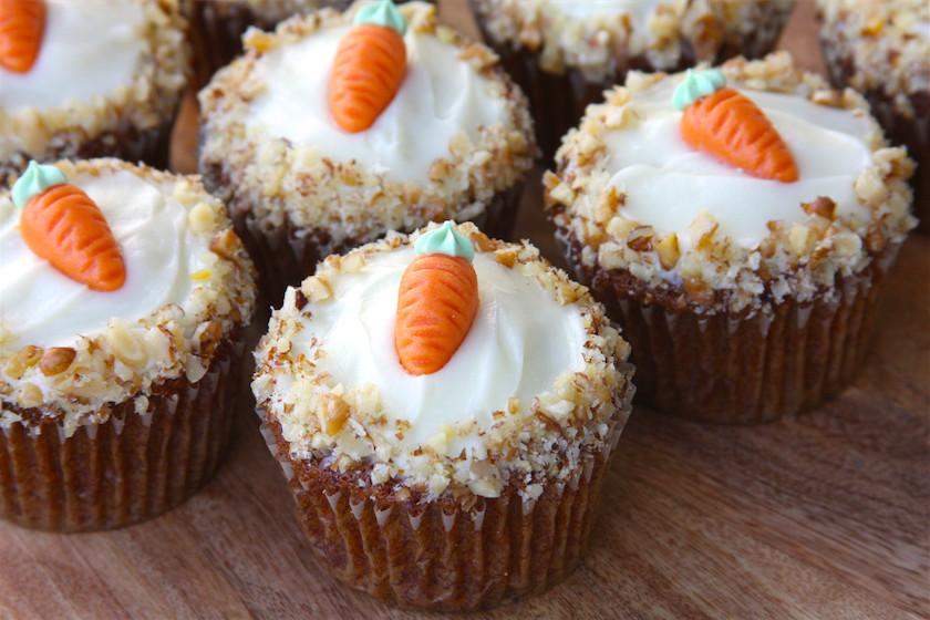 Easter Carrot Cake Cupcakes  Carrot Cake Cupcakes