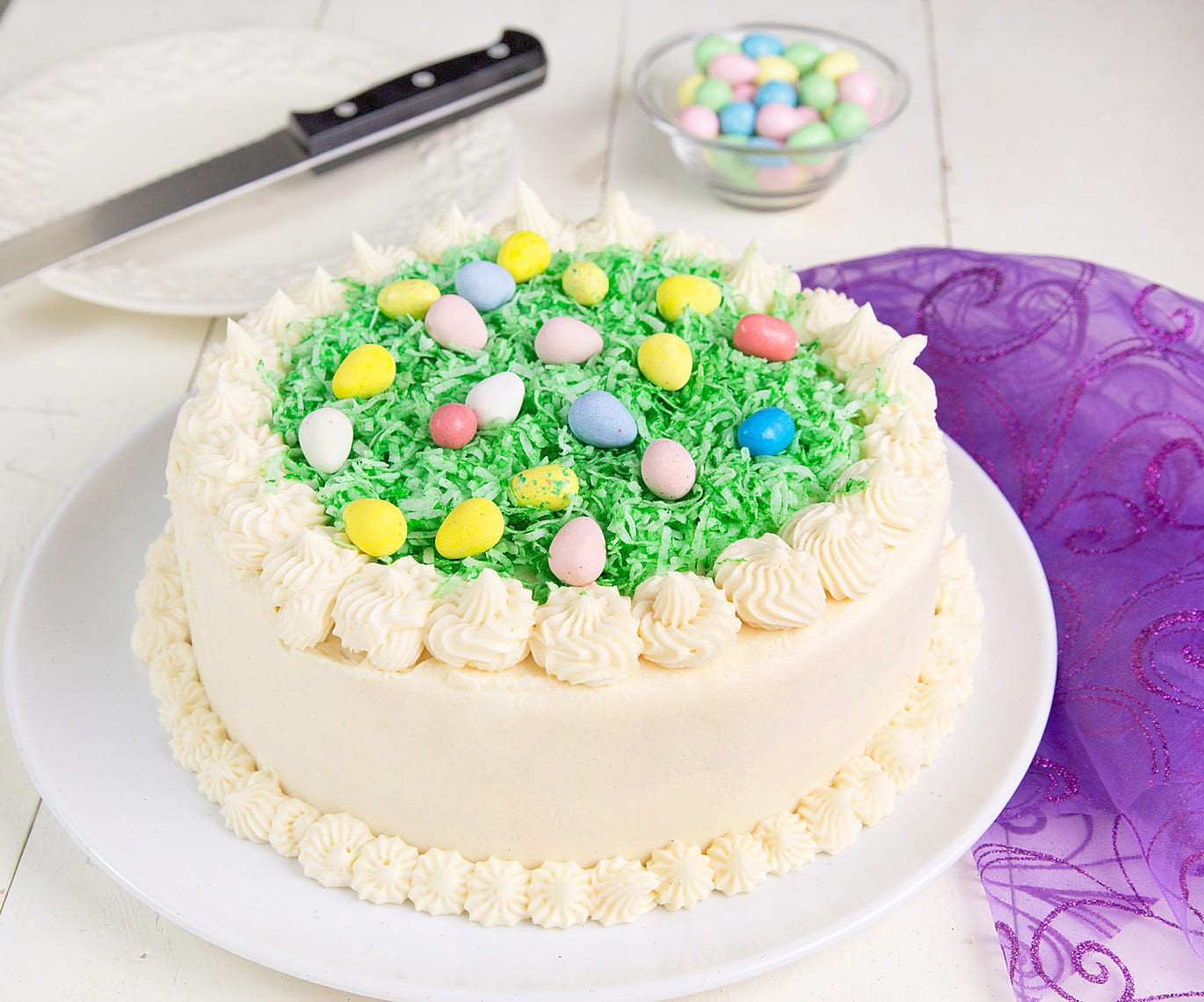 Easter Coconut Cake  My Coconut Easter Cake Recipe Tips and Tricks Chef Dennis