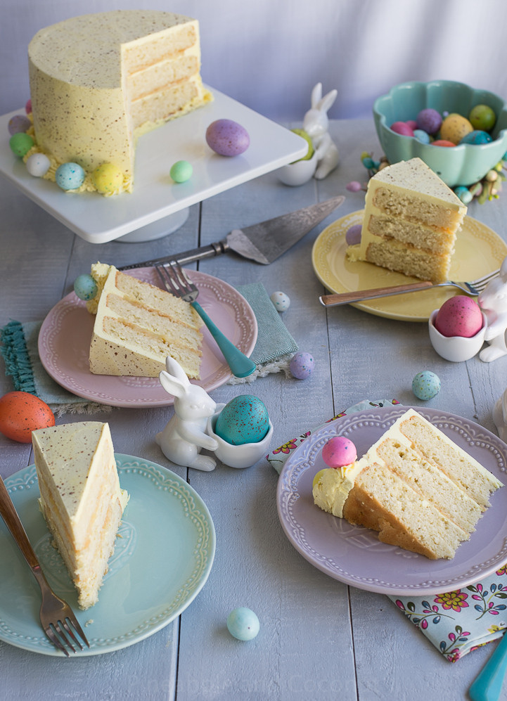 Easter Coconut Cake  Easter Coconut Lemon Cake With Step By Step s