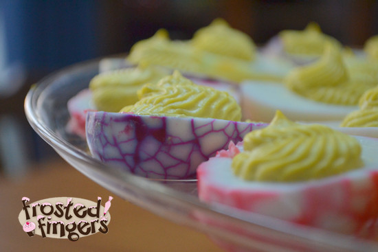 Easter Colored Deviled Eggs  18 Plus Easy Easter Recipes and Menu Helps