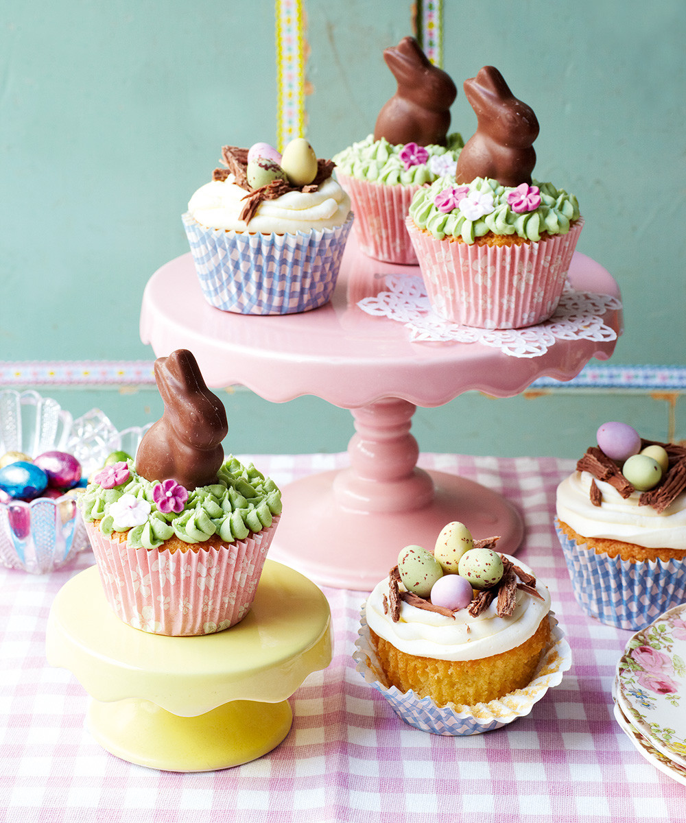 Easter Cupcakes Images  Cutest ever Easter cupcakes recipe topped with buttercream