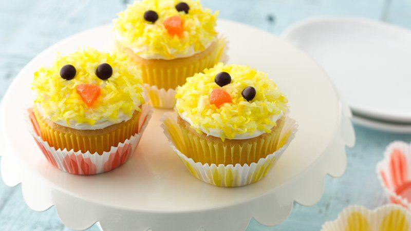 Easter Cupcakes Images  Easter Chicks Cupcakes recipe from Betty Crocker