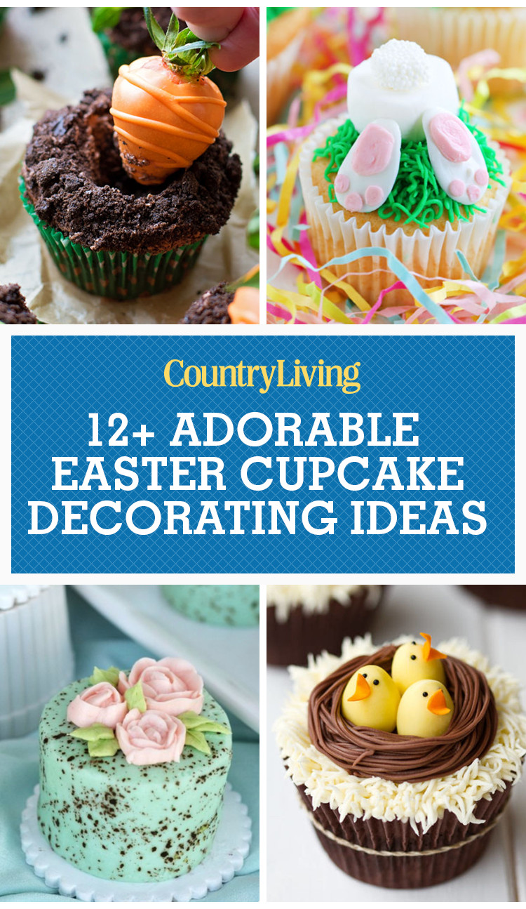 Easter Cupcakes Pinterest  12 Cute Easter Cupcake Ideas Decorating & Recipes for