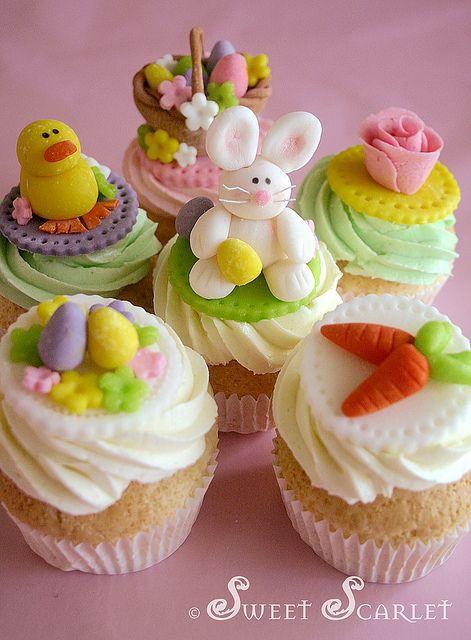 Easter Cupcakes Pinterest  Easter cupcakes Favorite Recipes Pinterest