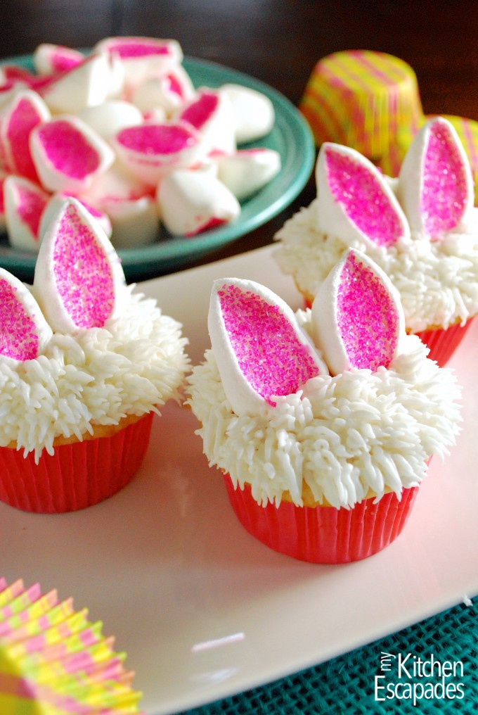 Easter Cupcakes Pinterest  Easter Bunny Cupcakes Made From Pinterest