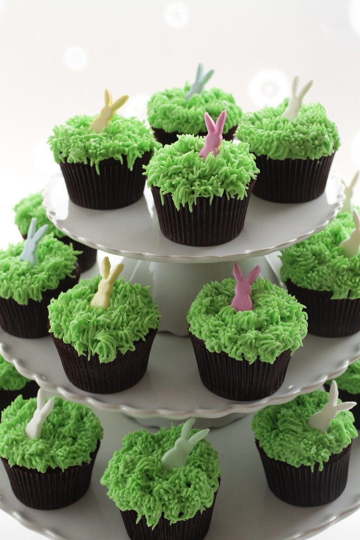 Easter Cupcakes Pinterest  17 Best images about Geor own Cupcake Easter Cupcakes on
