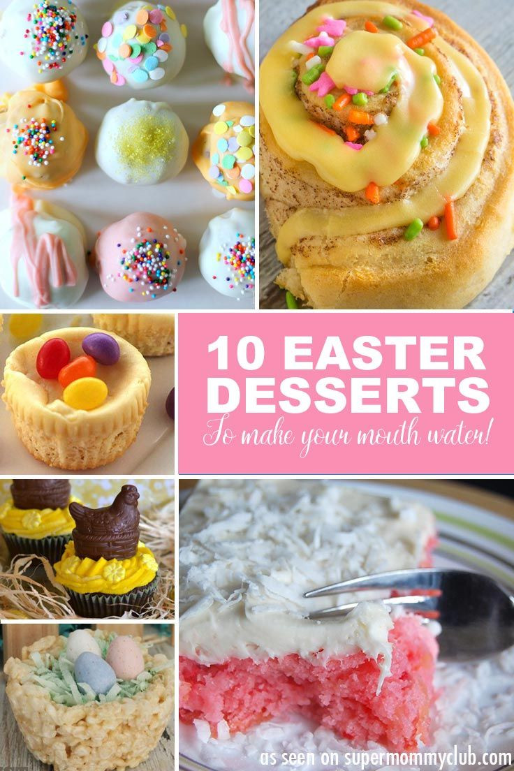 Easter Desserts Easy  Easy Easter Dessert Recipes ALMOST too Good to Eat
