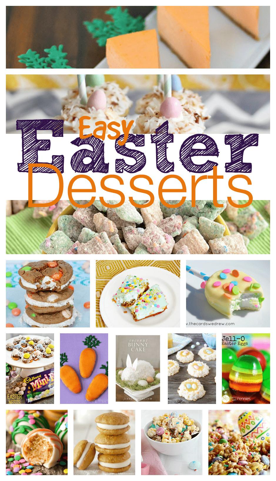 Easter Desserts Easy  Easy Easter Desserts
