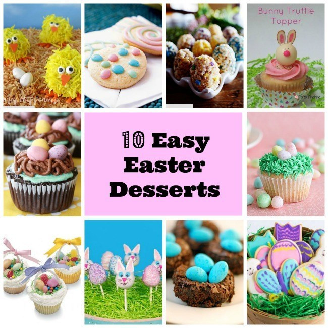 Easter Desserts Easy  10 Easy Easter Dessert Collection