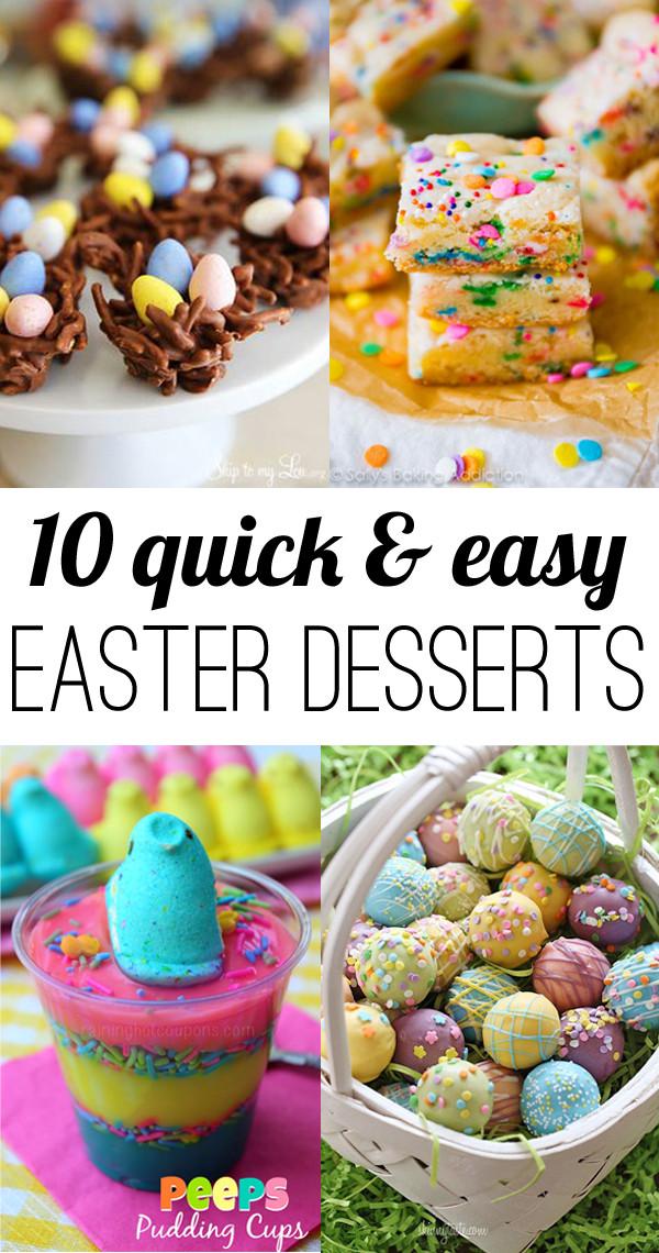 Easter Desserts Easy  10 easy Easter Desserts