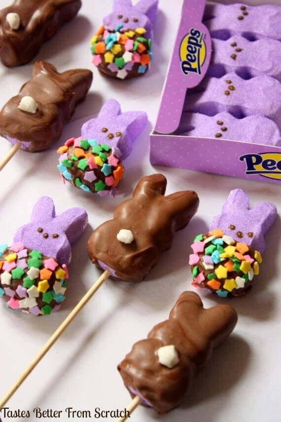 Easter Desserts With Peeps  23 Easter Desserts with Peeps Spaceships and Laser Beams