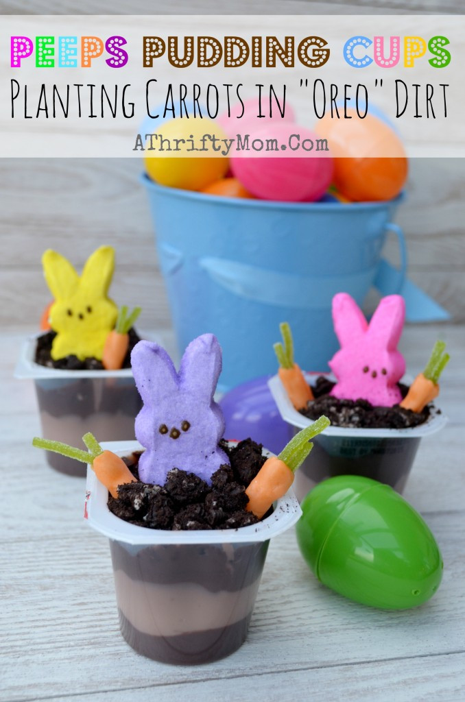 Easter Desserts With Peeps  Peep Peep Creative ways to use Peeps this Easter