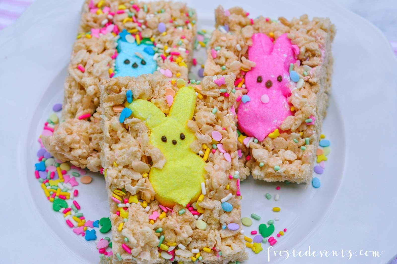 Easter Desserts With Peeps  Easter Treats How to Make Rice Krispies Peeps Treat