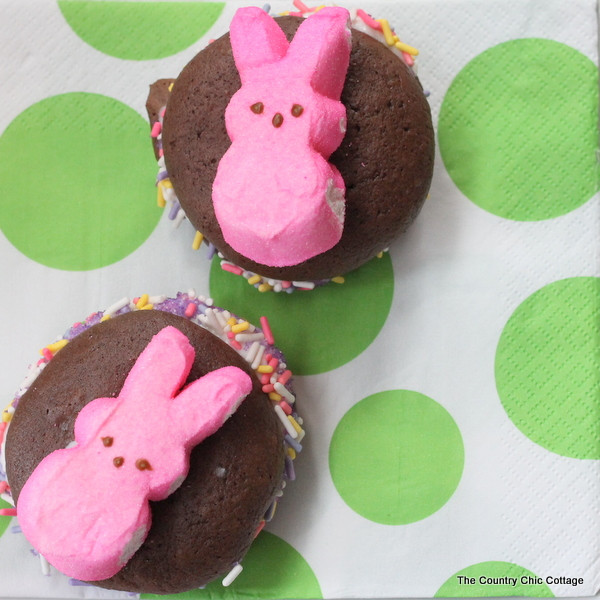 Easter Desserts With Peeps  Easter Dessert Peeps Whoopie Pies Recipe The Country
