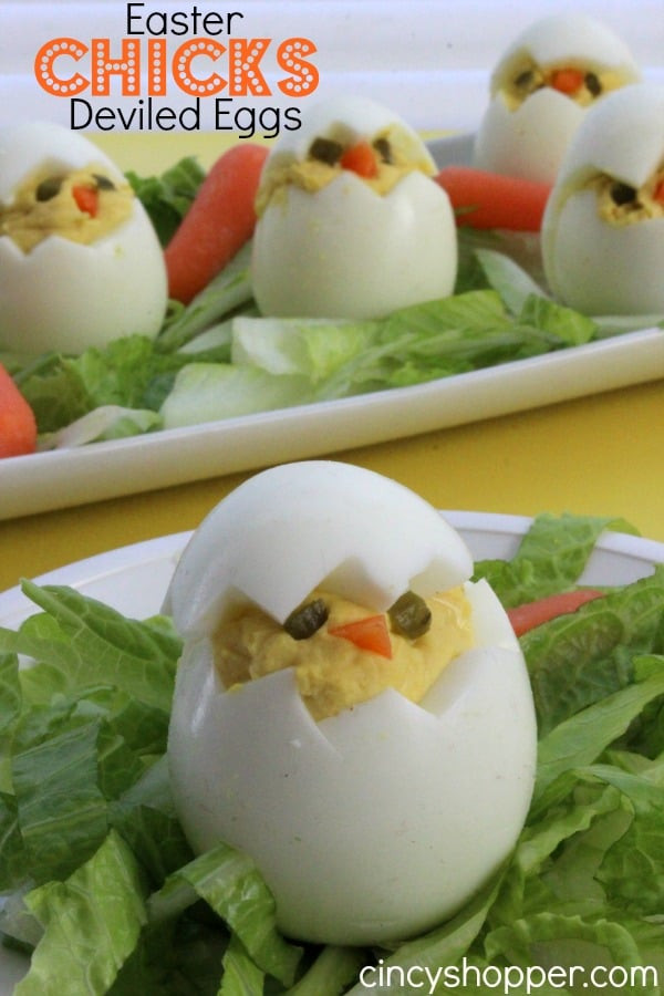 Easter Deviled Eggs Recipe  easter deviled eggs