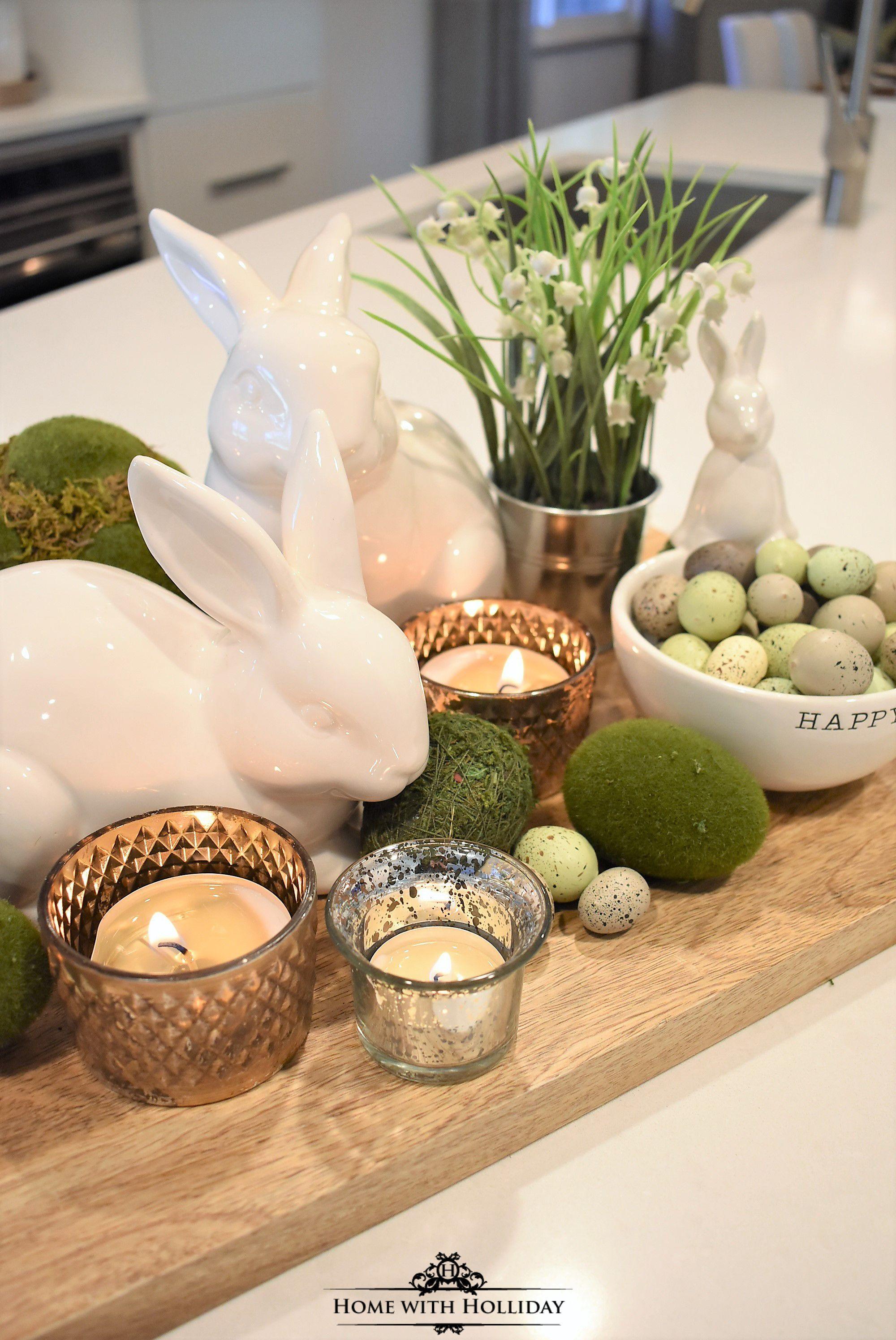 Easter Dinner 2019  Tips for Creating Simple Spring or Easter Decor