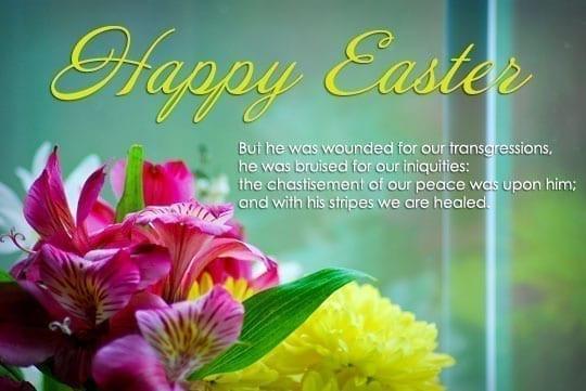 Easter Dinner Blessing  Easter Prayer and Easter Bible Verses