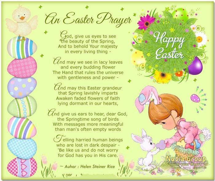 Easter Dinner Blessing  25 best ideas about Easter poems on Pinterest