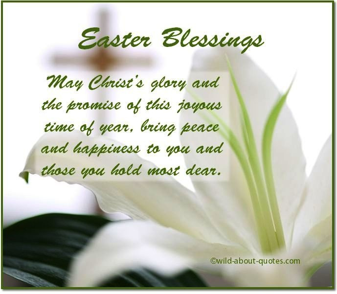 Easter Dinner Blessing  Easter Sunday Blessings Quotes QuotesGram