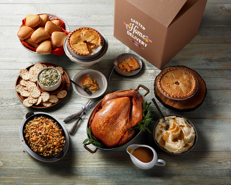 Easter Dinner Delivered  Boston Market 'Springs' Into Easter With Multiple Meals To