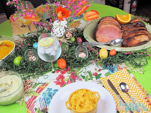 Easter Dinner For 2  HoneyBaked Ham Holiday Dinner Without the Hassle