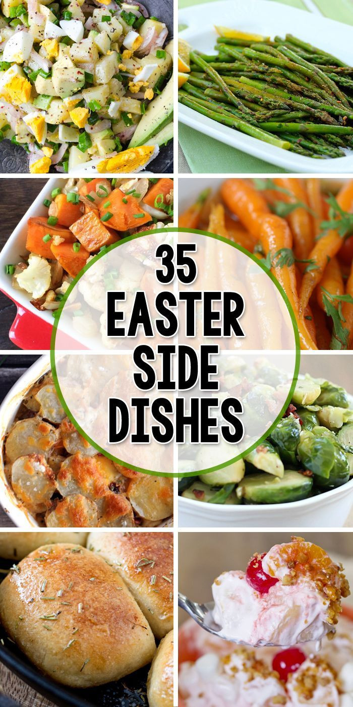 Easter Dinner For One  35 Side Dishes for Easter
