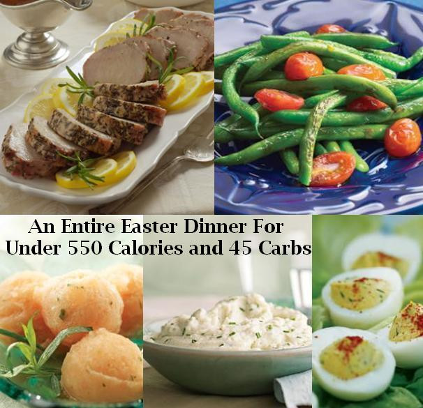Easter Dinner For One  Easter Dinner Menu For Those A Low Carb or Low Calorie