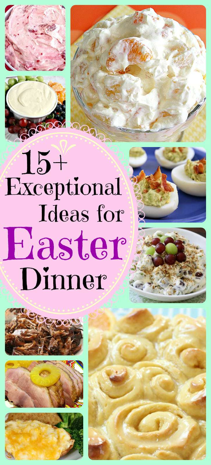 Easter Dinner For One  EASY & DELICIOUS EASTER DINNER RECIPES Butter with a