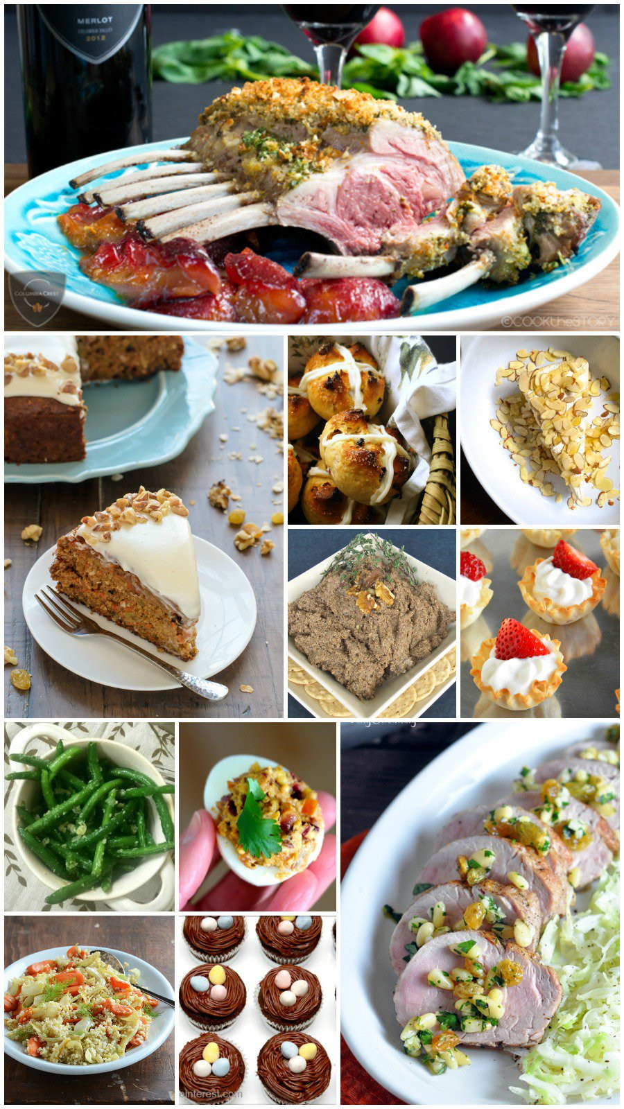 Easter Dinner For One  35 Easy Easter Recipes Rants From My Crazy Kitchen