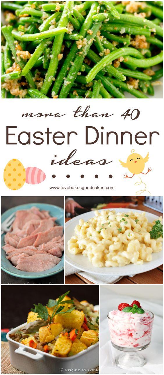 Easter Dinner For One  More than 40 Easter Dinner Ideas