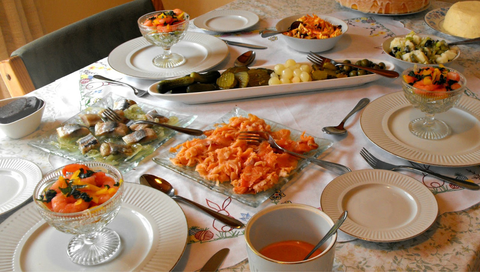 Easter Dinner For One  Happy Ramblings Wishing you a Happy Easter