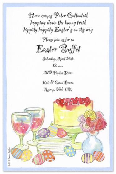 Easter Dinner Invitations  11 Best s of Easter Brunch Invitation Templates