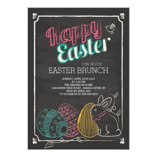Easter Dinner Invitations  Easter Invitations – Invitations 4 U