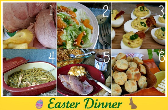 Easter Dinner Meal Ideas  Easter Recipe Round up Recipe