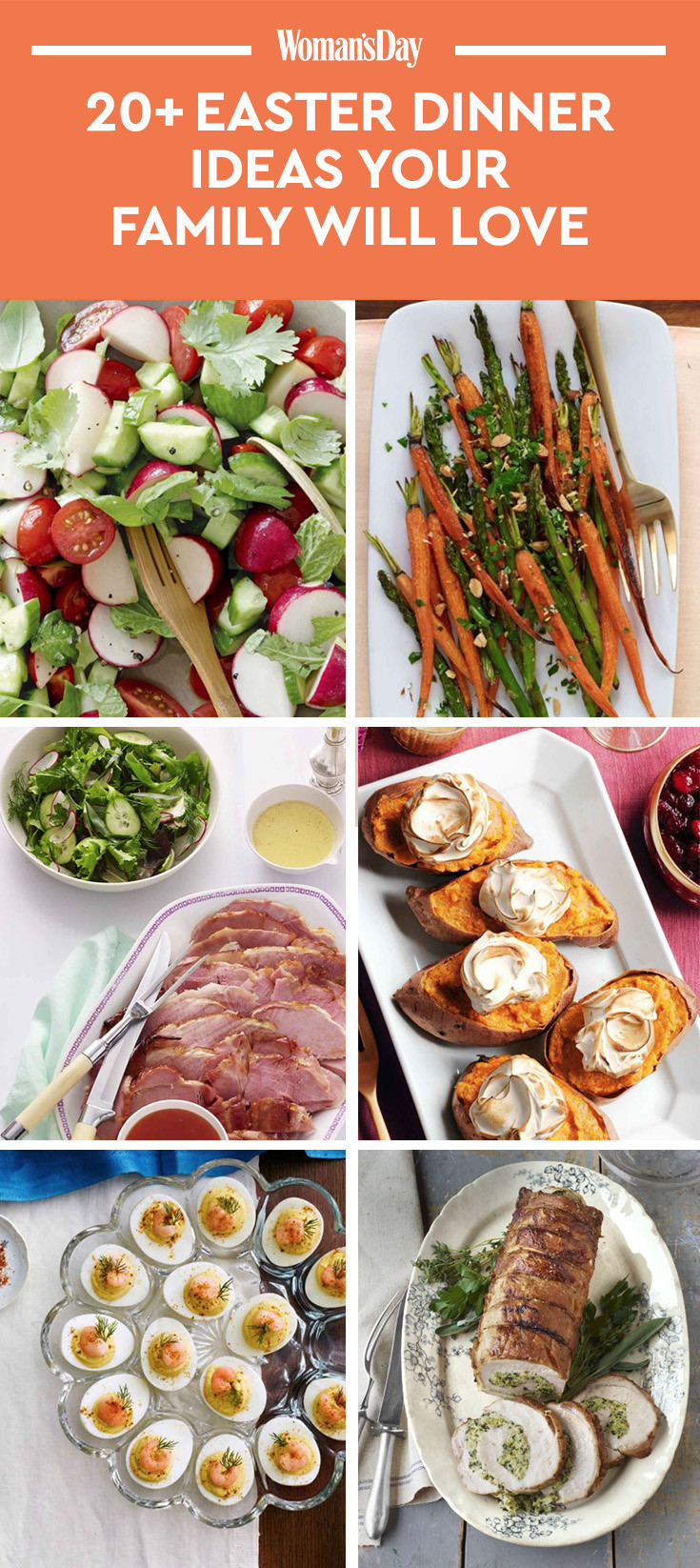 Easter Dinner Menu Ideas  21 Easy Easter Dinner Ideas Recipes for the Best Easter