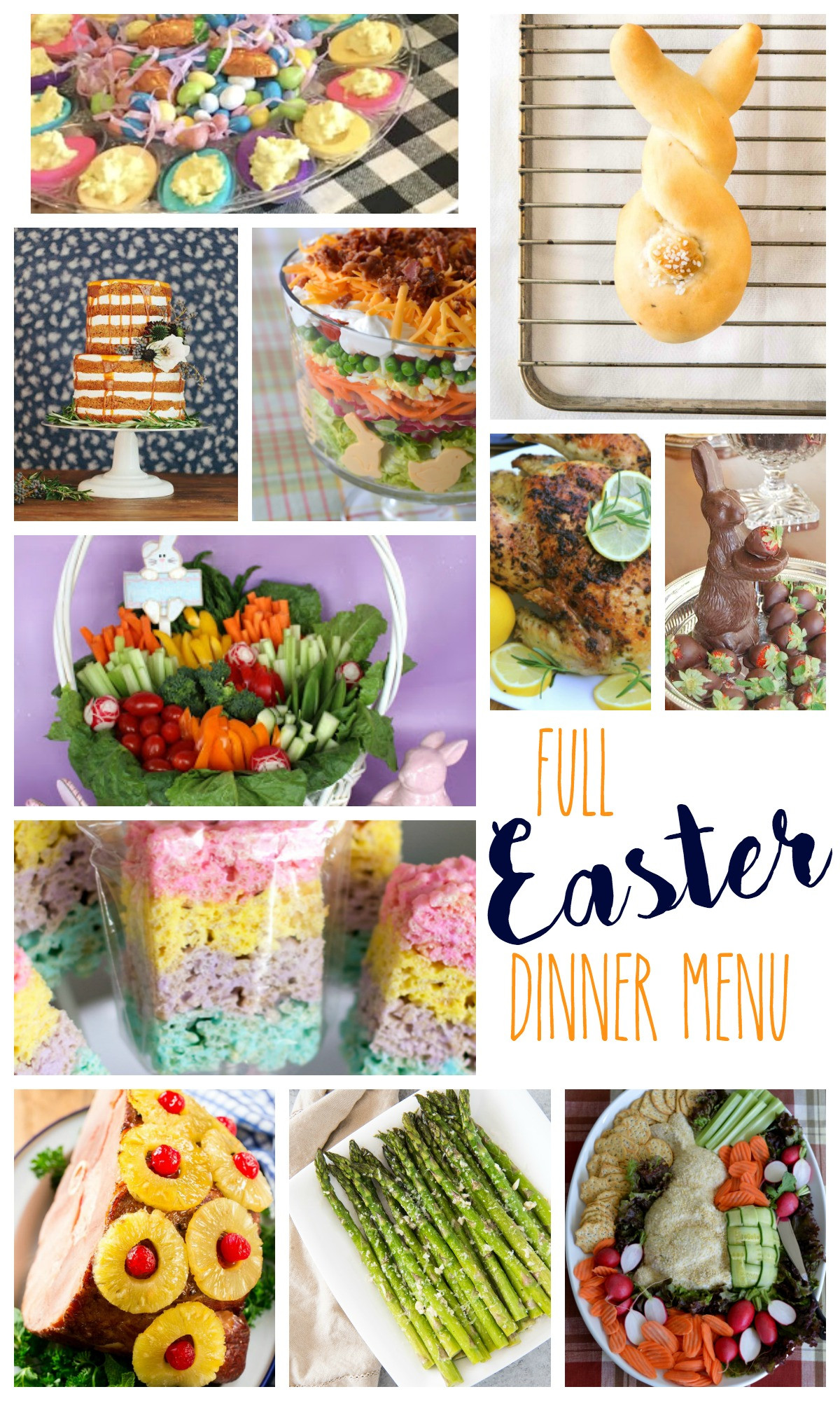 Easter Dinner Menu Ideas  Easter Dinner Menu 2018