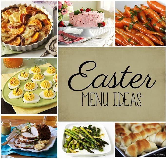 Easter Dinner Menu Ideas  Easter Meal Ideas