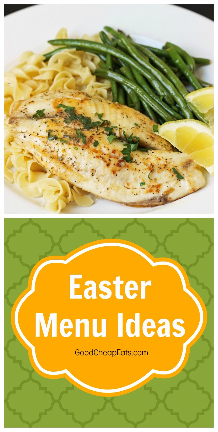 Easter Dinner Menu Ideas  Easter Menu Ideas Good Cheap Eats