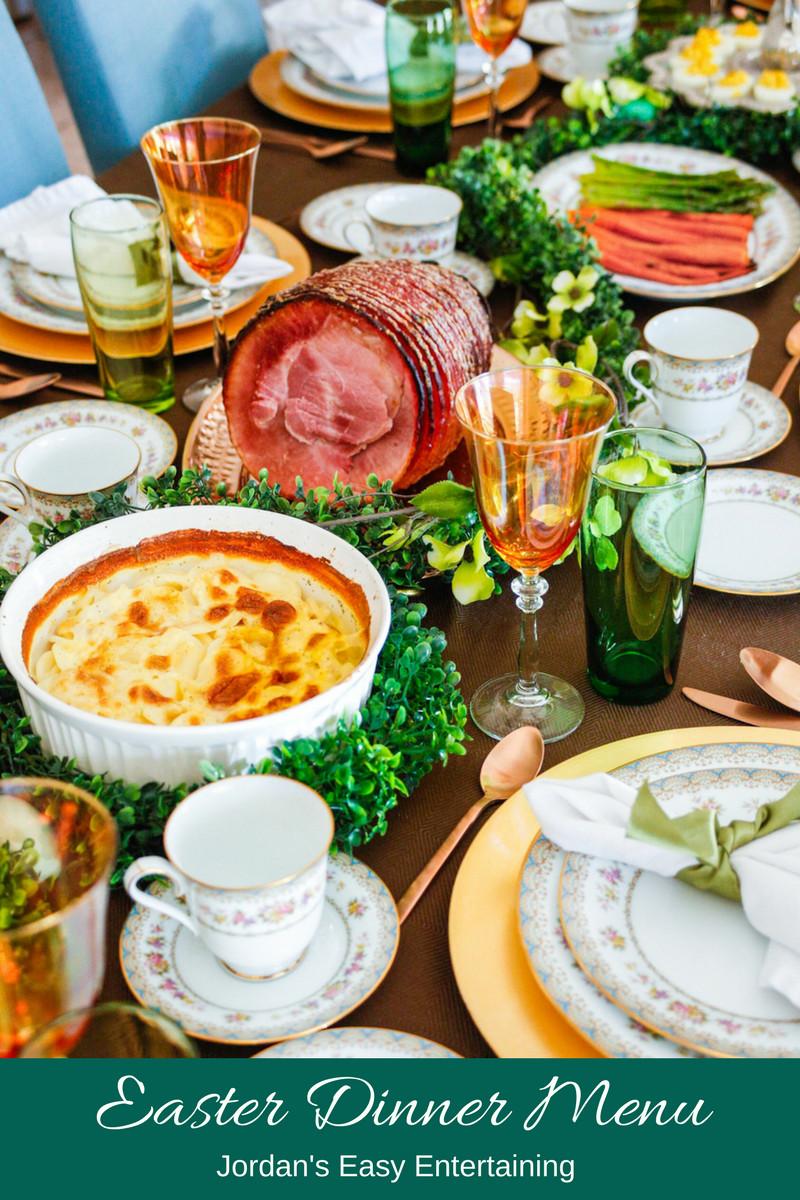 Easter Dinner Menu  Easter Dinner Menu and Serving Suggestions – Jordan s Easy