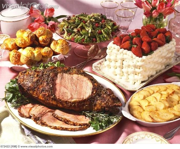 Easter Dinner Menu Traditional  17 Best images about Traditional Easter food around the