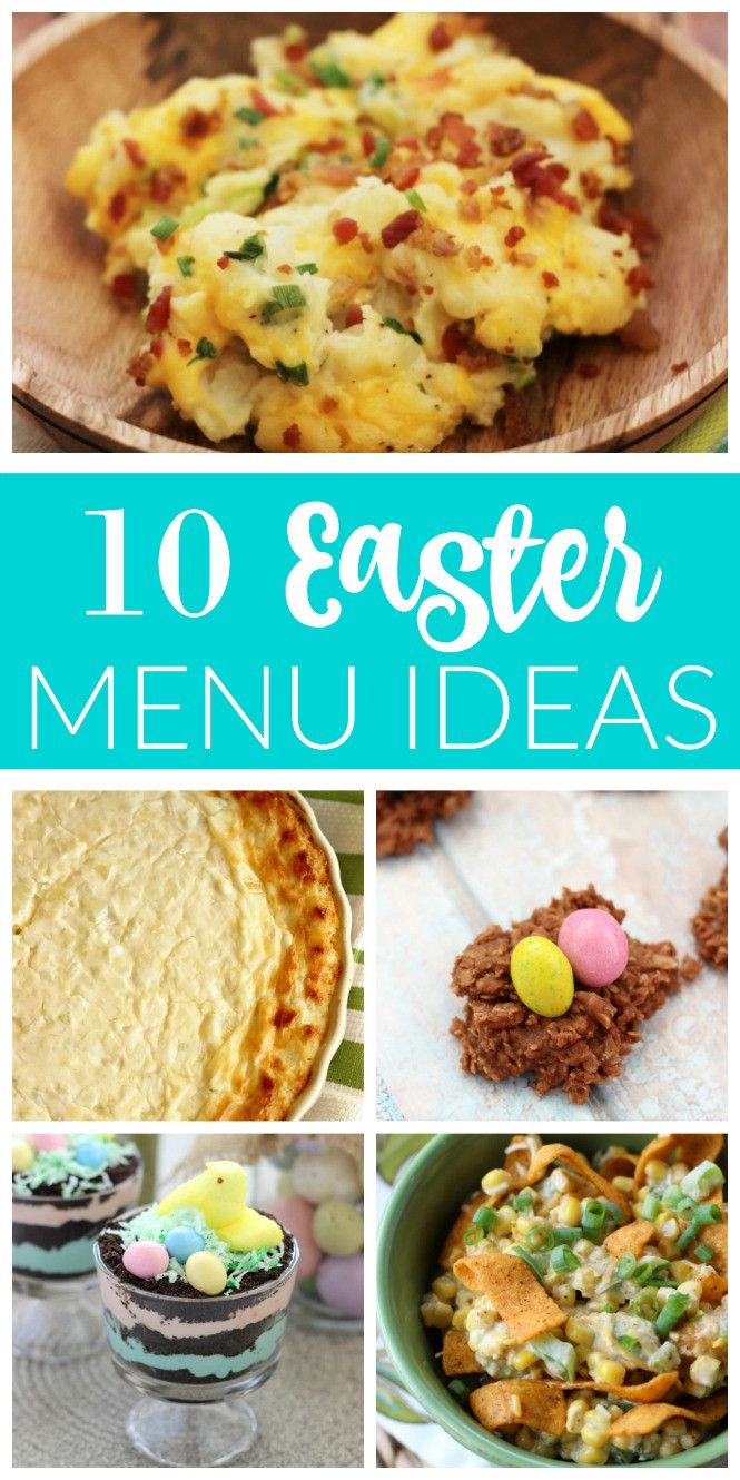 Easter Dinner Menus And Recipes  10 Easter Menu Ideas Diary of A Recipe Collector