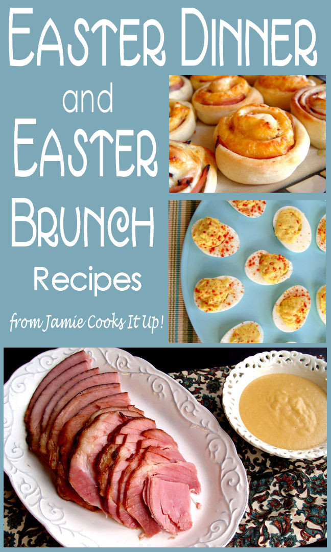 Easter Dinner Menus And Recipes  Easter Brunch Menu Cake Ideas and Designs