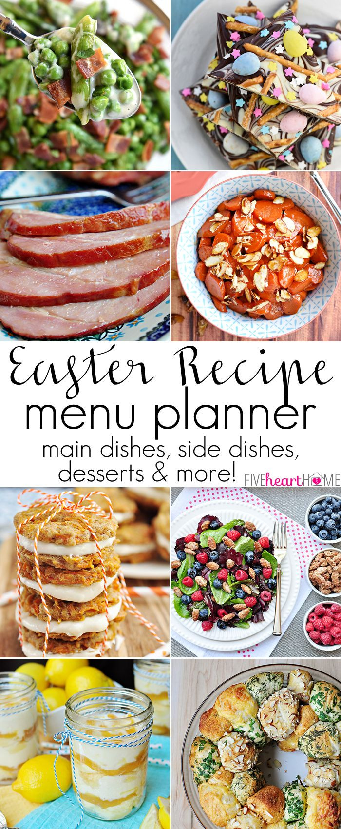 Easter Dinner Menus And Recipes  Best 25 Easter weekend ideas on Pinterest