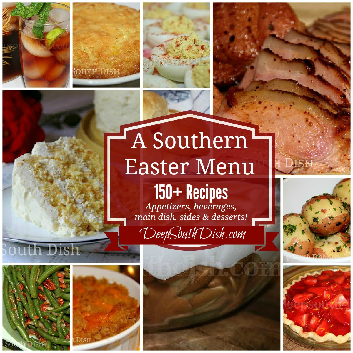 Easter Dinner Menus And Recipes  Deep South Dish Southern Easter Menu Ideas and Recipes