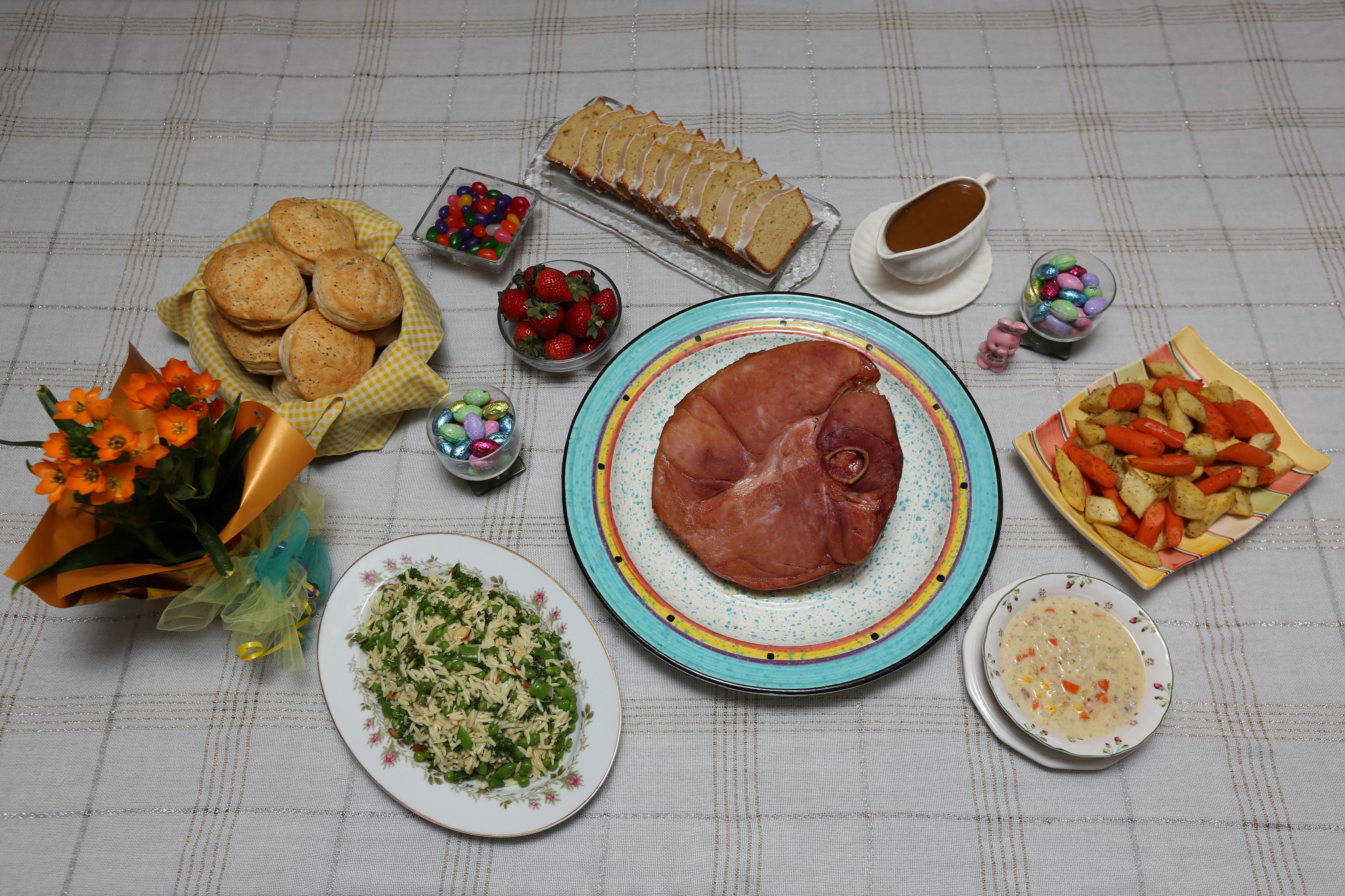 Easter Dinner Pictures  Easter ham and all the fixins this Sunday The Blade