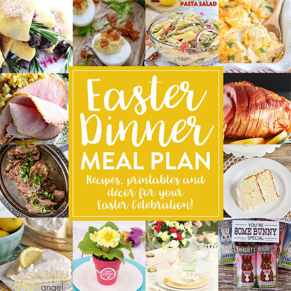 Easter Dinner Pictures  Easter Dinner Meal Plan Julie s Eats & Treats